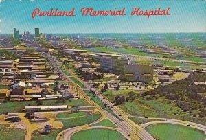 Aerial View Parkland Memorial Hospital Dallas Texas
