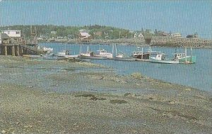 Maine Baley Island View Showing The Famous Cribstone Bridge