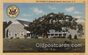 Franklin D Roosevelt Library Hyde Park, NY, USA Unused