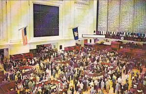 New York Stock Exchange Interior