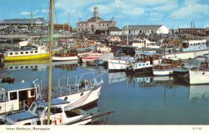 Vintage Postcard Boats in the Inner Harbour, Ramsgate, Kent L97