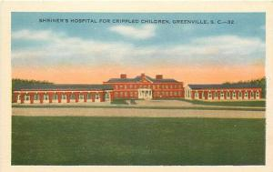 SC, Greenville, South Carolina, Shriner's Hospital, Crippled Children, Mitchell