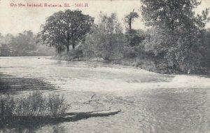 BATAVIA, Illinois, 1913; On the Island
