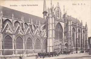 Belgium Brussells Eglise Sainte Gudule