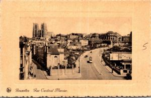Belgium Brussells Rue Cardinal Mercier