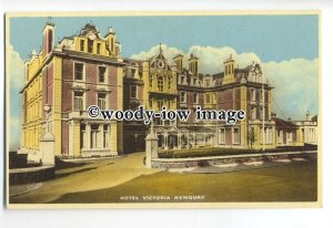 tq0646 - Cornwall - The Hotel Victoria on East Street, in Newquay - Postcard