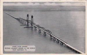 Virginia Norfolk James River Bridge Second Longest Bridge In The World Dexter...