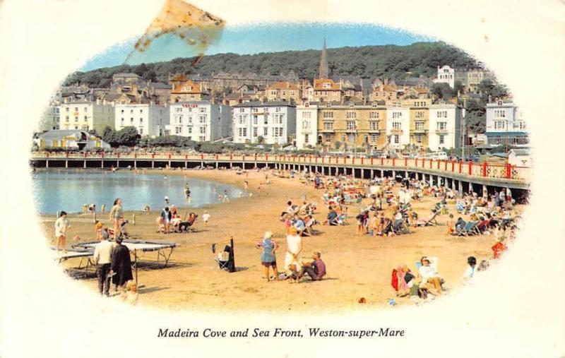 Madeira Cove and Sea Front, Weston-super-Mare 1980