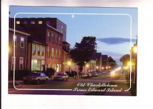 Old Charlottetown in the Moonlight, Prince Edward Island, Photo Jim & Wendy P...