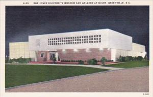 South Carlina Greenville Bob Jones University Museum And Gallery At Night