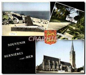 Modern Postcard Souvenir de Bernieres sur Mer