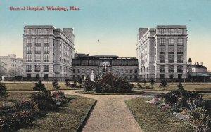 WINNIPEG , Manitoba , 1900-10s ; General Hospital, version 2
