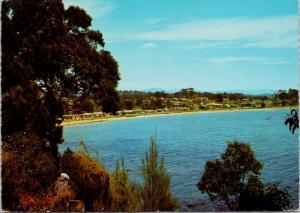 Batehaven NSW Australia Beach from Bronte Cres Vintage Postcard D59 UNUSED
