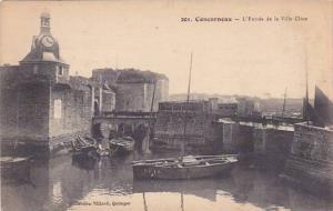 France Concarneau L'Entree de la Ville Close