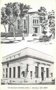 Millville New Jersey~Millville National Bank Centennial~In 1857 & 1957~B&W PC