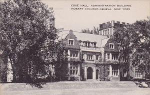 New York Geneva Coxe Hall Administration Building Hobart College Artvue