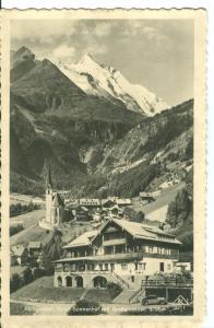 Heiligenblut, Hotel Sonnenhof mit Großglockner