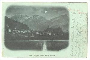 Gruss aus Golling an der Salzach , Austria PU-1901