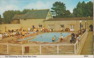 Herne Bay Kent Court Swimming Pool Diving Board Postcard