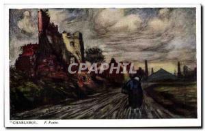 Old Postcard Belgium Charleroi Paulus