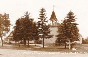Minnesota Eden Valley St Paul's Lutheran Church Real Photo