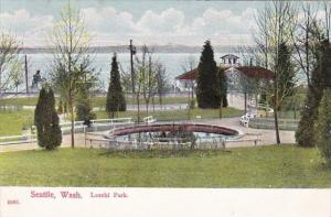 Washington Seattle Leschi Park 1908
