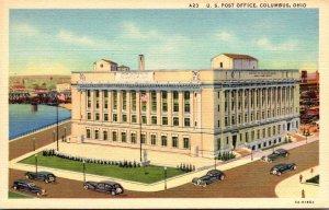 Ohio Columbus Post Office 1946 Curteich