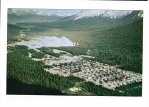 CASSIAR, British Columbia, Canada; Aerial View of The Townsite, 40-60s