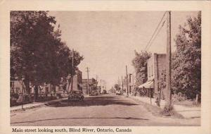 Main Street , Looking South , BLIND RIVER , Ontario , Canada , 1910s