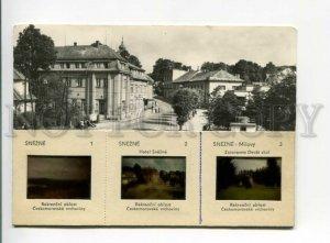 3164163 Czech Republic SNEZNE Hotel postcard 1967 year 3 SLIDES