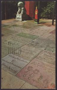 Footprints of the Stars,Grauman's Chinese Theater,CA BIN