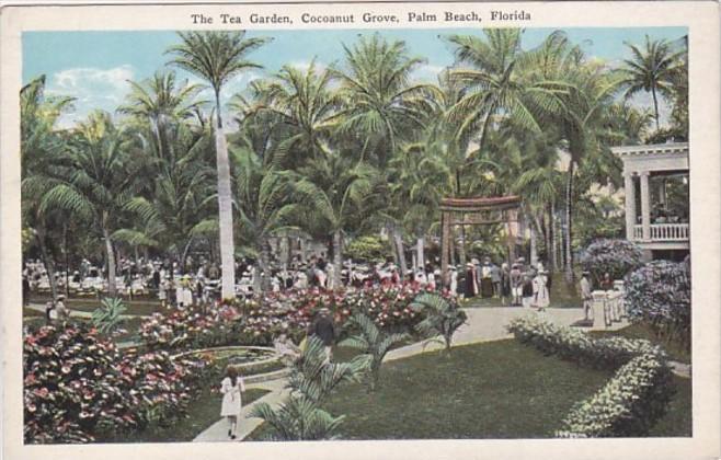 Florida Palm Beach The Tea Garden Cocoanut Grove
