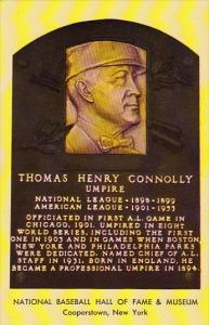 Thomas Henry Connolly Umpire National Baseball Hall Of Fame & Museum Cooperst...
