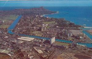Hawaii Waikiki Aerial View Of one Of The Fastest Growing Districts In The Pac...