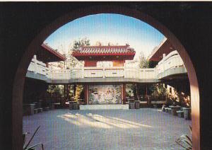 International Buddhist Society Temple Courtyard At Dawn Richmond British Colu...