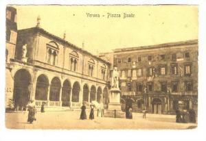 Piazza Dante, Verona (Veneto), Italy, 1900-1910s