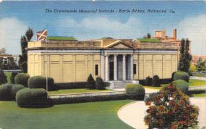 RICHMOND VA LOT OF 5 POSTCARDS~CONFEDERTE MEMORIAL~TOBACCO~CHURCH~CARILLON~COURT
