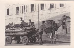 RP: Camel pulled cart , KARACHI , Pakistan , 30-40s