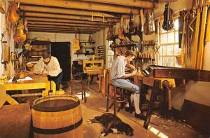 Musical Instrument Maker's Shop - Williamsburg, Virginia