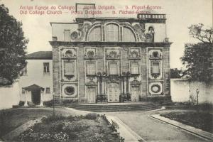 portugal, Azores Acores, SAÕ MIGUEL, Old College Church (1910s)