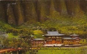 Byodo-In Temple Replica Valley Of The Temples Oahu Hawaii 1971