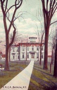 1910 Y. M. C. A., BATAVIA, N.Y.