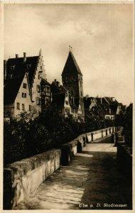 CPA AK Ulm Stadtmauer GERMANY (896807)
