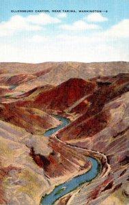 Washington Ellensburg Canyon Near Yakima