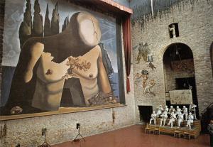 Postcard Art Labyrinth Teatre-Museu Dali, Figueres #853