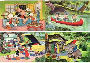 WALT DISNEY COLLECTION OF 300 CPA Mostly 1950-1965 Period (L3762)