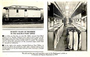 Seventy Years of Progress - Railway Post Office (RPO)