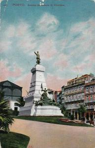 PORTO, Estatua do Infante D. Henrique, Portugal, PU