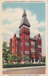 Indiana Vincennes University 1941 Curteich