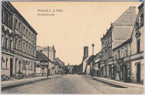 POLAND -  Vintage Postcard archiwalne pocztówki - Nowa Sól   Neusalz an der Oder
